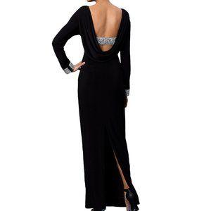 NWT Marina Maxi Backless Shift Gown Sz 20W